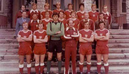 Plantilla del Dynamo de Berlín en 1979.