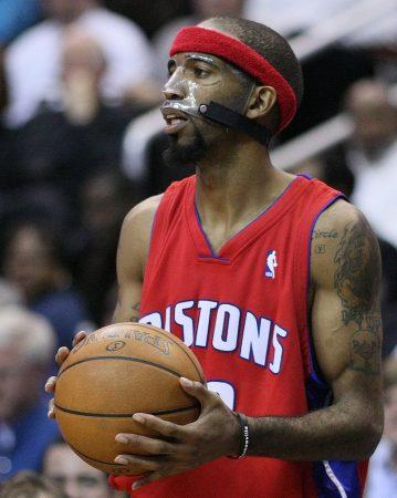 Richard Hamilton era el jugador más letal de aquellos Detroit Pistons.