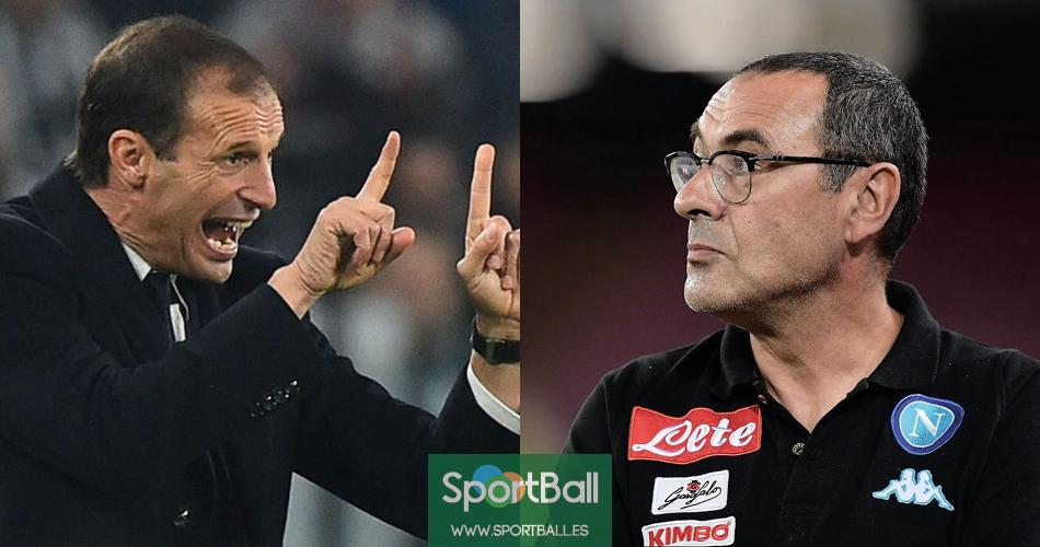 Sarri-Allegri o del eterno debate sobre el fútbol