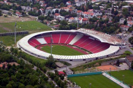 El estadio Rajko Mitic es uno de los estadios más calientes de Europa