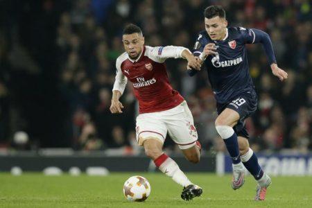 Duelo entre Arsenal y Estrella Roja de la Europa League
