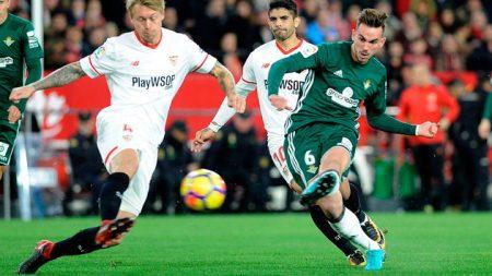 11 ideal jugadores revelación La Liga. Fabián Ruiz está siendo uno de los jugadores más destacados.