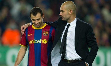 Pep Guardiola no estaba muy convencido de su fichaje pero el Jefecito Javier Mascherano con esfuerzo hizo historia grande en Barcelona.