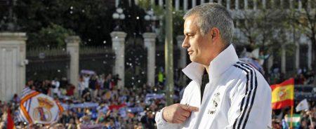 Celebración de la Liga que conquista el Madrid en 2012 de la mano de Jose Mourinho
