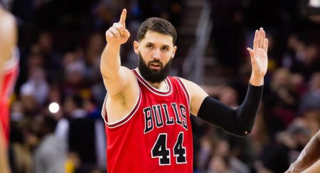 Nikola Mirotic, in his stage with the Chicago Bulls.