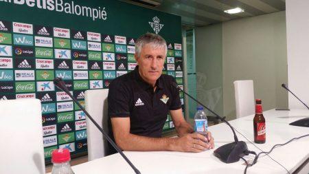 Setién trasladó su idea de fútbol combinativo desde Las Palmas a Sevilla.