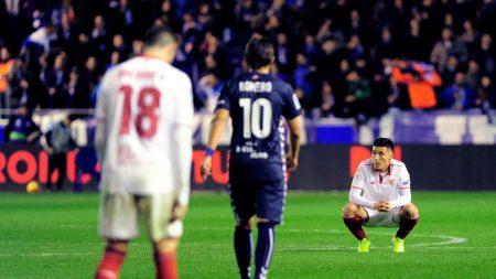 El Sevilla encadena cinco derrotas consecutivas en Liga, dos con Vincenzo Montella.