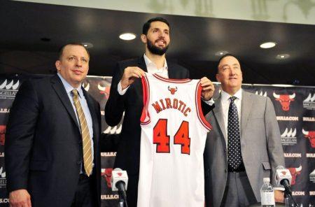 En el Draft 2011, Mirotic era el Unicornio.