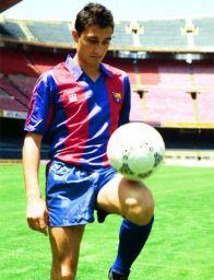 Valverde jugó dos temporadas -1988/99 y 1989/90- en su actual club.