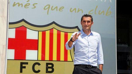 La 1ª temporada de Ernesto Valverde en el Barcelona está siendo de sobresaliente.