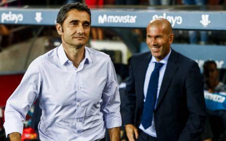 Ernesto Valverde debutó en un Clásico con derrota contundente. Volvió 6 meses después para ganar 0 a 3.
