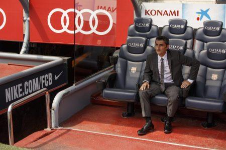 Se está demostrando que el Barça no le viene grande a Ernesto Valverde.