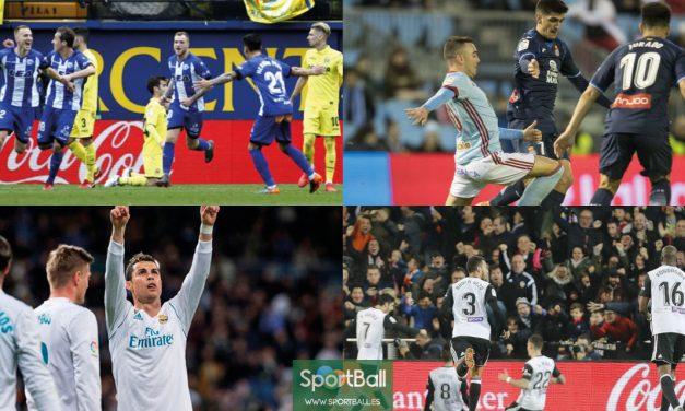 11 ideal La Liga jornada 23