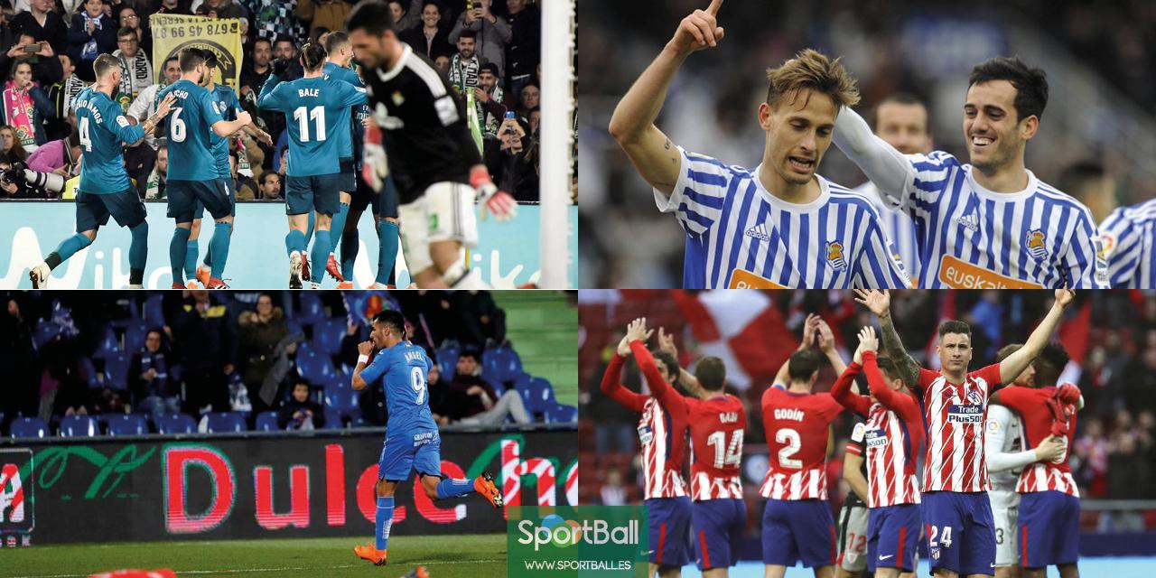 11 ideal La Liga jornada 24