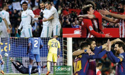 11 ideal La Liga jornada 25