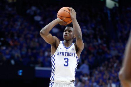 Cómo juega Hamidou Diallo. El jugador de Kentucky debe mejorar sus porcentajes de acierto desde la línea de tres puntos.