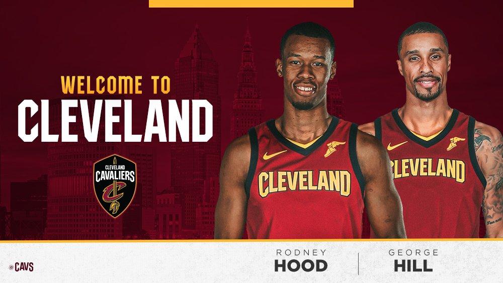 Cleveland da la bienvenida a Hood y Hill
