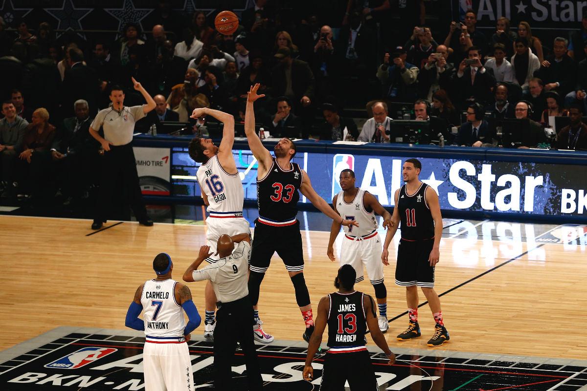Pau y Marc, los hermanos historia del All Star Game de la NBA.