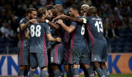 El Besiktas quedó por delante de Oporto, Leipzig y Mónaco en Champions