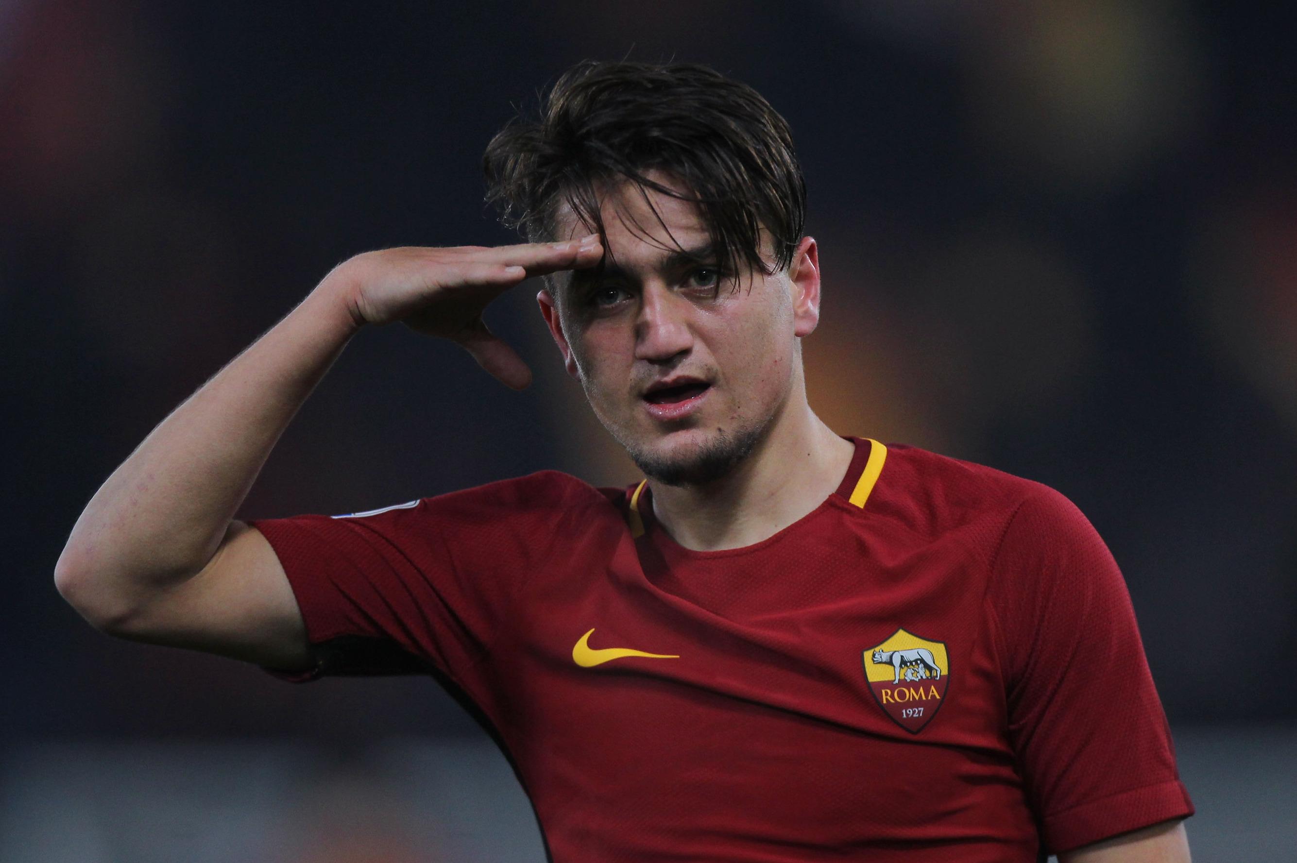 Cengiz Under, el talento turco que está explotando en Roma.