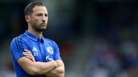 Domenico Tedesco, actual técnico del Schalke 04.