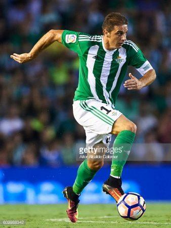 Joaquín es uno de los mejores veteranos de La Liga y ha incrementado su aportación al juego del Real Betis.