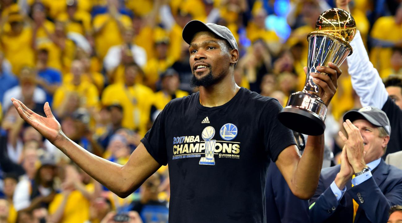 Kevin Durant a Golden State fue la guinda al pastel del negocio de la NBA.