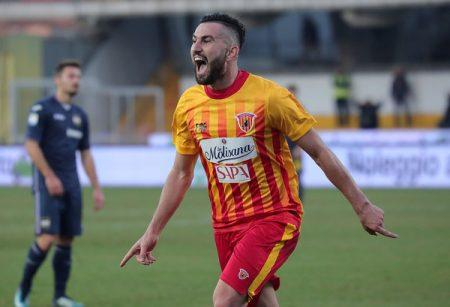 Coda es el máximo goleador del Benevento Calcio con tres tantos