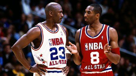 Michael Jordan vs Kobe Bryant All Star