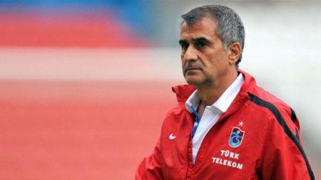 Günes en su etapa como técnico del Trabzonspor