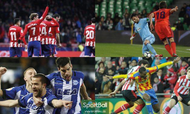 11 ideal La Liga jornada 26