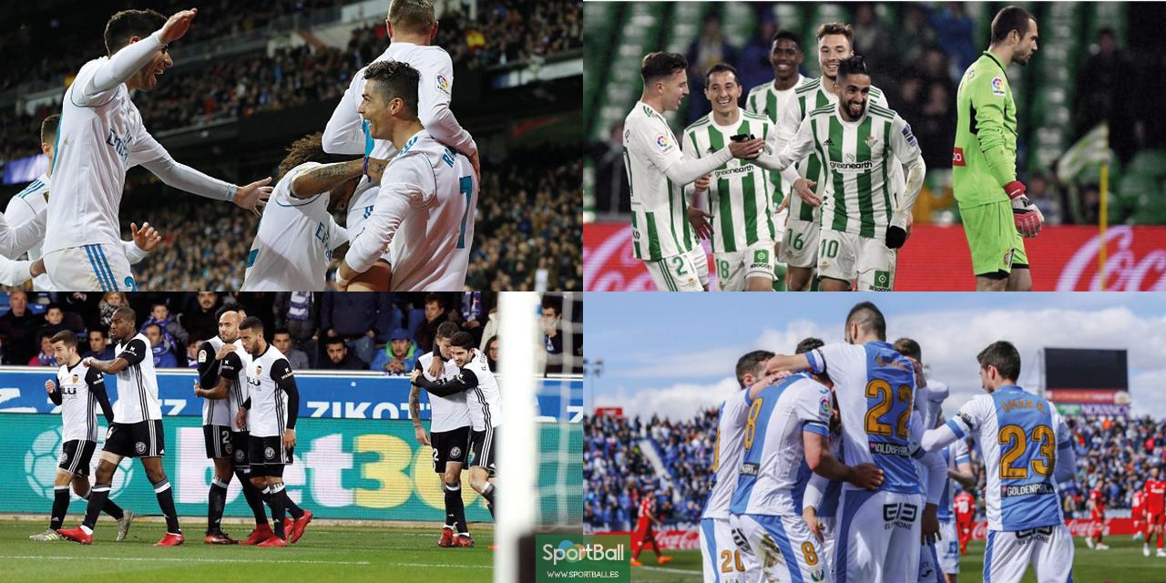 11 ideal La Liga jornada 29