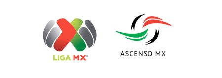 Logos de la Liga MX y Ascenso MX