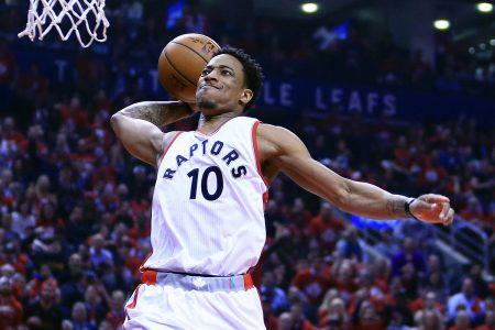 DeMar DeRozan está liderando a Toronto Raptors.