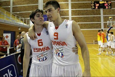 Edgar Vicedo y Willy Hernángomez