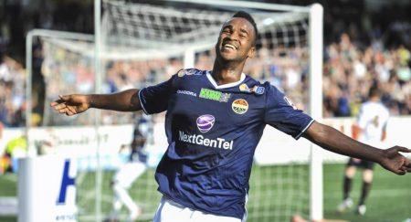 Ola Williams Kamara jugó 116 partidos en el Stromsgodset, en los que marcó 50 goles.