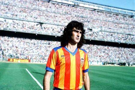 Mario Alberto Kempes, uno de los mejores jugadores de la historia del Valencia CF.