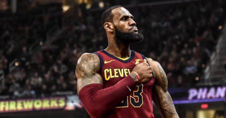 """""""The King"""" no quiere perder el factor cancha en los Playoffs Conferencia Este."""
