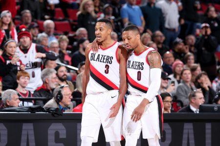 CJ McCollum y Damian Lillard, una de las parejas más destacadas de la NBA.