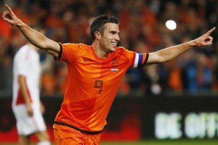 Van Persie es el máximo goleador de la Selección Holandesa.