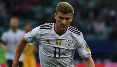 Con 21 años, Timo Werner ya ganó la Copa Confederaciones, llevándose la Bota de Oro de la competición con 3 goles.