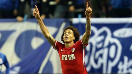 Axel Witsel es una de las estrellas del Tianjin Quanjian.