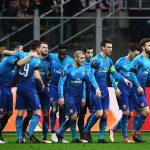 Partido de ida: Milán 0- Arsenal 2. 08/03/18.