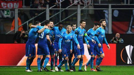 La Europe League como salvación del Arsenal: Milán 0- Arsenal 2.