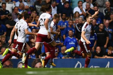 Chelsea 2- Burnley 3, 12/08/17