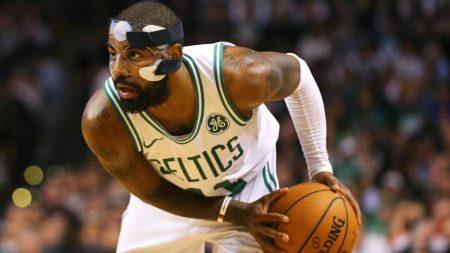 La lesión de Irving no ha sido su primera, ha tenido una dura temporada.