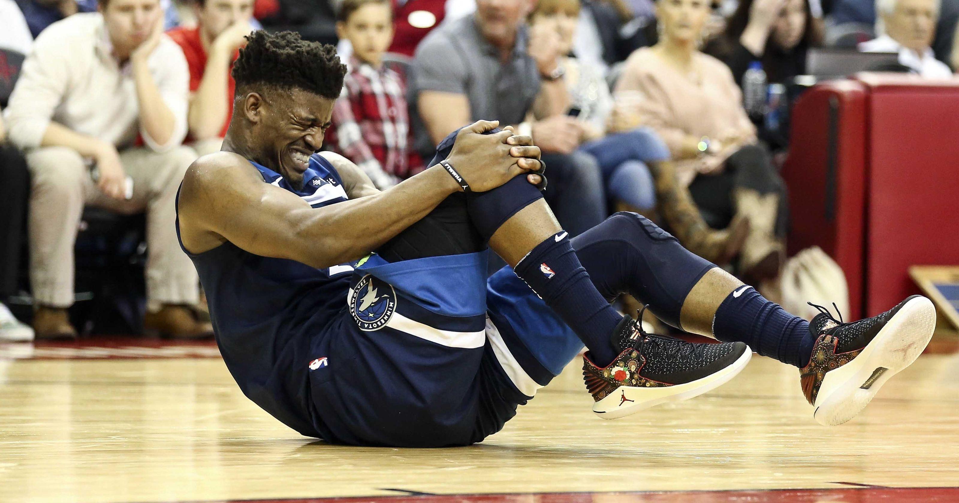 El dolor inicial de los lesionados en la NBA, con el testimonio de Jimmy Butler.