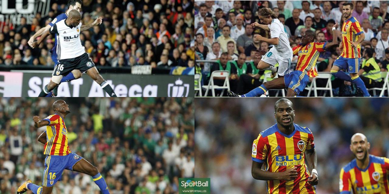 Kondogbia es clave en el Valencia de Marcelino: destruye, recupera, organiza, asiste y hasta golea.