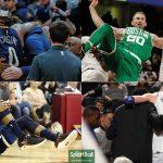 Las lesiones en la NBA, a la altura de una epidemia