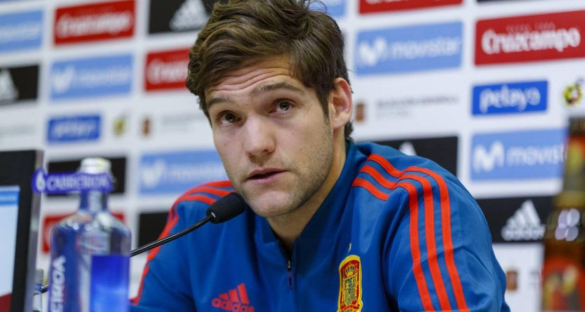 Marcos Alonso en la Selección Española